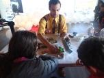 Hands-On Activities with Explorables Volunteers