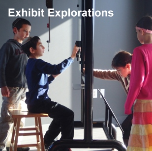 Students choose what exhibits to explore, and move on when they are ready. The exhibits at Helix will change over time, so be sure to ask us what will be there!