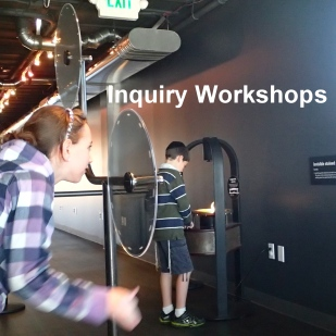 You may choose to add an inquiry workshop onto your visit, led by a Helix educator. Please ask us for more information about designing a program that supports your goals.