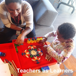 The spaces at Helix are easy to manage, so teachers have the opportunity to be learners alongside their students. Helix is also a great place for teachers to observe how their students learn science in a setting outside of school.